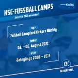 Fußball Camp SV Kickers Büchig 03.08.-06.08.2021