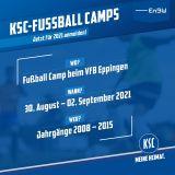 Fußball Camp VFB Eppingen 30.08.-02.09.2021