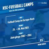 Fußball Camp Europa-Park 25.05.-28.05.2021