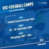 Fußball Camp Europa-Park 07.09.-10.09.2021