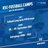 Fußball Camp VFR Kronau 06.09.-09.09.2021