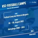 Fußball Camp FC Viktoria Neupotz 02.08.-05.08.2021