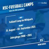 Fußball Camp Wildpark 31.08.-03.09.2021
