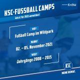 Fußball Camp Wildpark 02.11.-05.11.2021