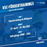 Talenttraining Wildpark 23.04.-21.05.2021