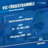 Talenttraining Wildpark 05.03.-26.03.2021